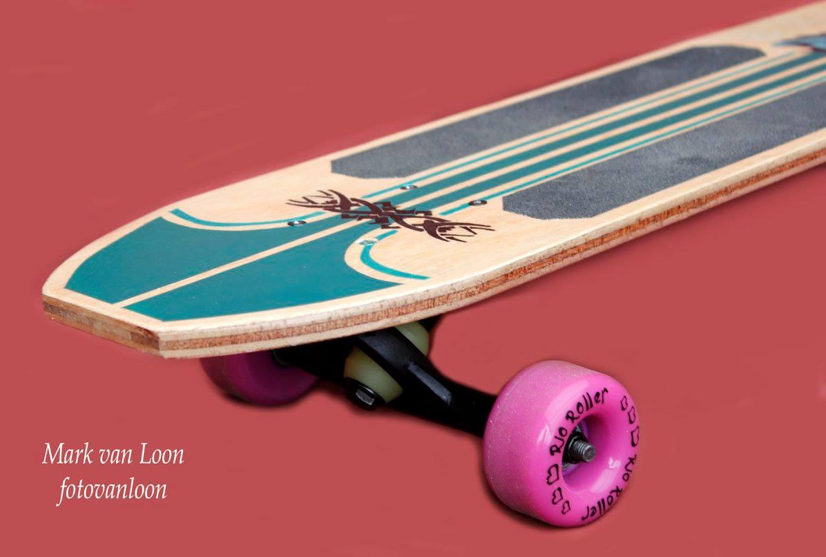 Skateboard Productfotografie foto van Loon